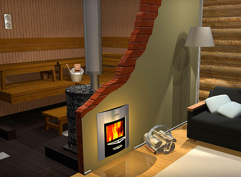 Печка для бани и отопление для дома