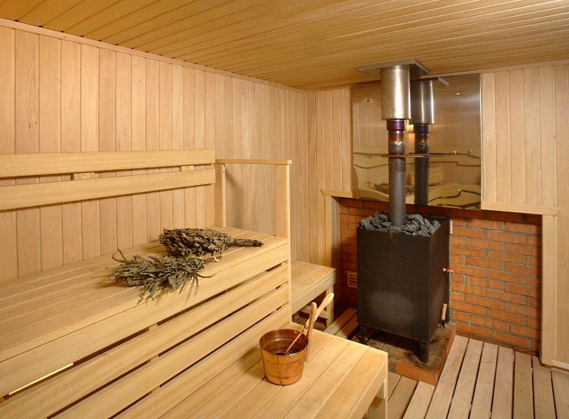 Печка для бани на дровах