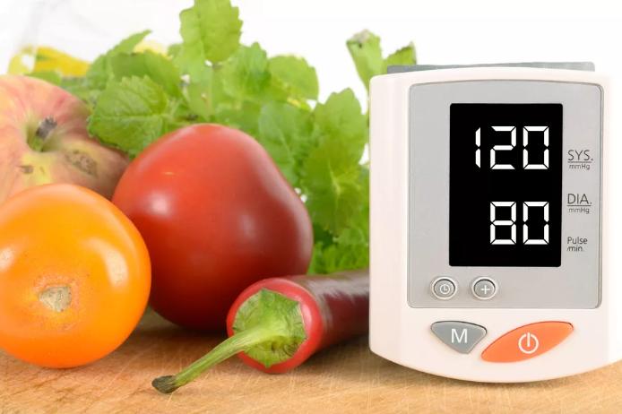 Овощи - питание при большом давлении