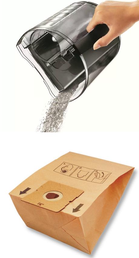 Пылесборник и контейнеры
