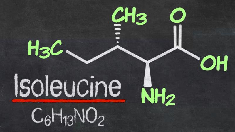 Аминокислота изолейцин - формула