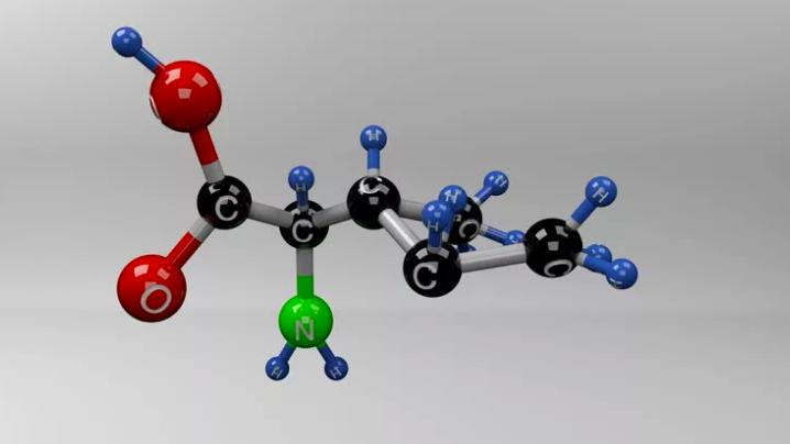 Изолейцин молекула