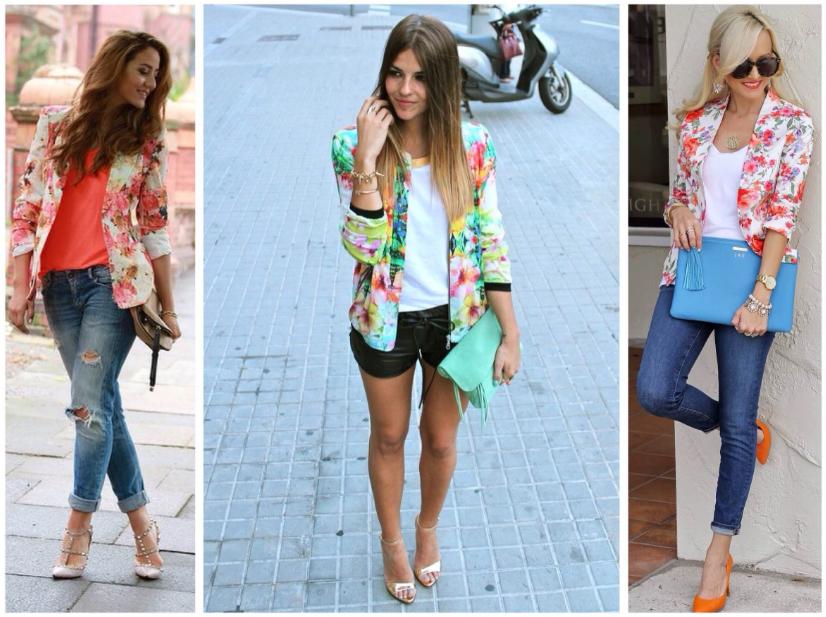 Цветные женские пиджаки
