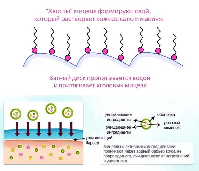 Как действует мицеллярная вода