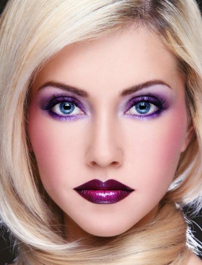 Макияж глаз для блондинок. в новый год, фото