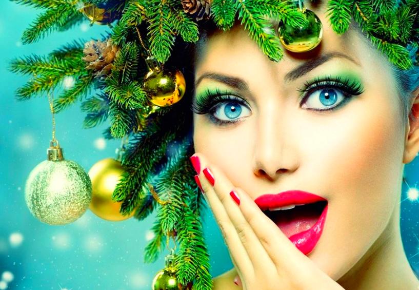 Самый красивый макияж на новый год 2020
