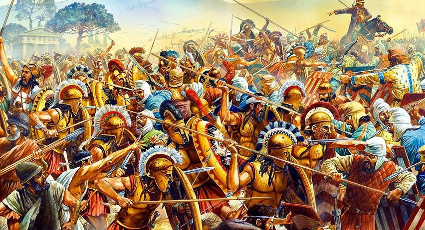 Картинка про древнюю войну №4