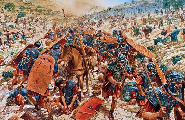 Картинка про древнюю войну №3